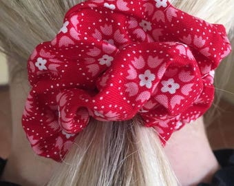 Red Scarlet Scrunchie