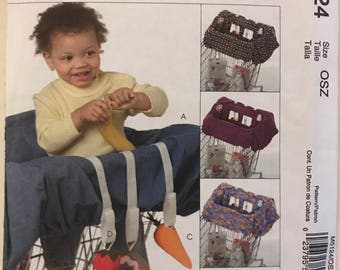 McCalls M5124 - Baby's Grocery Cart Liner and Toys