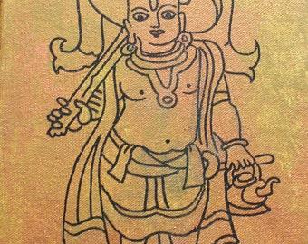 Vamana Vishnu Avatar