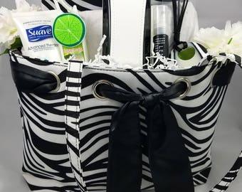 Zebra Print Purse Gift Bag
