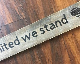 united we stand | wood decor