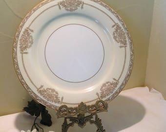 """Noritake China Japan, """"Bancroft"""" 5481 Dinner Plate"""