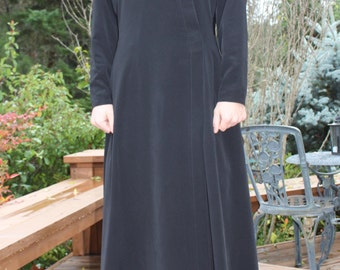 TO ORDER  Russian style cassock black.