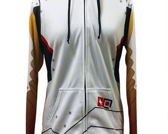 Overwatch Mercy Inspired Hoodie