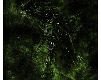 Alien Movie Poster - High Quality Giclee Print