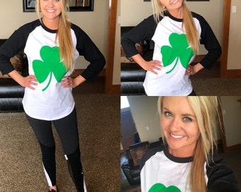 St Patrick's Day Shirt, Shamrock Shirt, St Pattys Day, Lucky Shirt, Women's St Patrick Day Shirt, Irish Shirt, Lucky Charm Shirt, Ready Ship