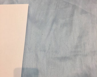 Baby Blue Shantung Faux Silk Polyester Drapery Fabric  by the yard 40 colors