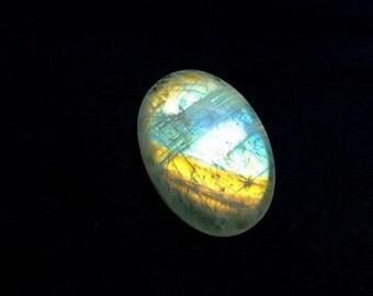 Exclusive Moonstone cabochon AA quality , 1 pcs , 60 carat , oval shape , flat back cabochon , natural stone , code E2333
