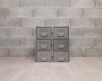Metal drawers lockers
