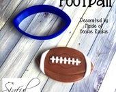 Football Cookie / Fondant Cutter
