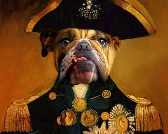 Print, custom dog painting, pet portrait, dog art, custom dog portrait, dog portrait, pet memorial, pet portrait custom, dog painting