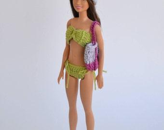 Bikini for Barbie, Barbie, Barbie, fashion doll panties, clip fashion Barbie, bag Barbie, Barbie, barbie Hat