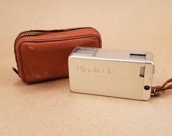 """Minolta 16 Sub-miniature """"Spy"""" Camera"""