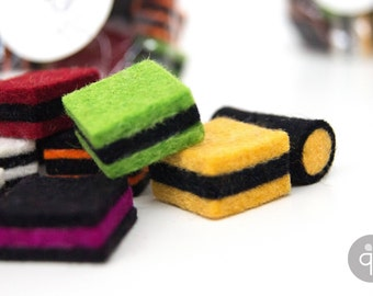 Quadu Liquorice made of felt