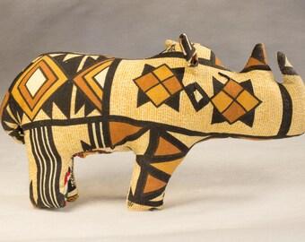 Stuffed Rhinoceros