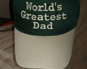 World's Greatest Dad- closed out item.
