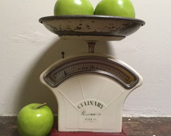 """Persinware """"Culinary"""" kitchen scales Made in Australia Imperial measure Kitchenalia Shabby chic Rustic decor Vintage kitchen"""