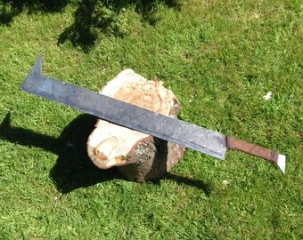 Uruk Hai Sword, Lord of The Rings Orc Cleaver Cosplay, Costume.