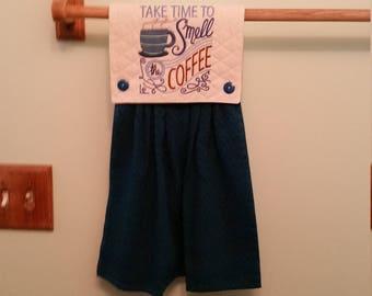 Navy Blue Kitchen Towel