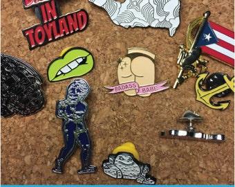 Wonderful Custom Enamel Pins, Custom Pins, Lapel Pins, Soft Enamel, Pins, Enamel