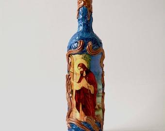 Catholic bottle, jesous christ, Religious gifts,jesus Christ