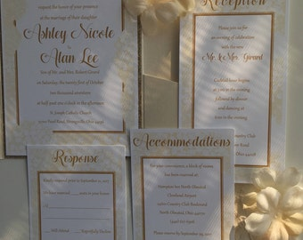 Wedding Invitations - Custom Made / Budget-Friendly