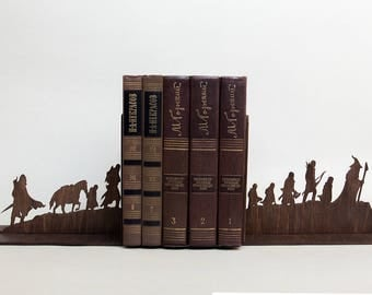 Bookend etsy - Hobbit book ends ...