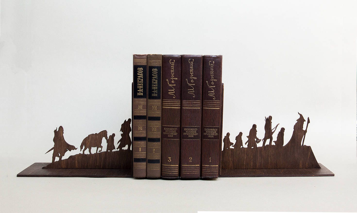 The Lord Of The Rings Handmade Bookends Nursery Decor Book
