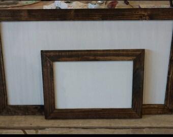 Framed Blank Sign