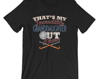 Field Hockey Grandpa Shirt-Field Hockey Grandma Shirt-Grandma Gifts-Grandpa Gift-Grammy Gift-Grandparents Gift-Field Hockey T Shirt