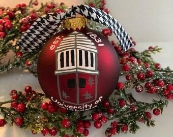 Alabama Ornaments- Handpainted Assorted Designs