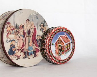 Holiday Containers (Set of 2)