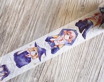 Magic School Washi Tape,Magic girl Washi Tape,girl washi tape,Harry Potter washi tape,Masking Washi Tape,sakura washi tape