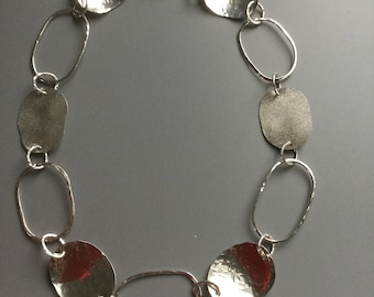 Gorgeous handmade Sterling silver necklace