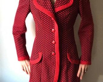 Vintage Mod Party Jacket - Lilli Ann Paris // San Francisco