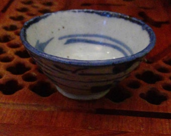 Vintage Handmade tea cup