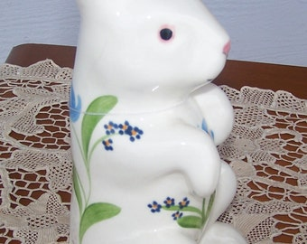 Figurine, Bunny, Tall, Ceramic,