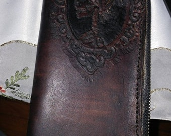 Custom hand crafted leather items