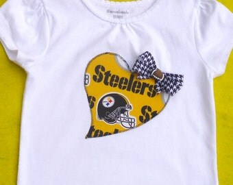 Pittsburgh Steelers Girls' Shirt / toddler / Girls/ Only two left