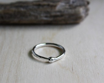 Ouroboros Ring - Argentium Silver - Silver Ouroboros Ring - Snake Eating Itself - Silver Serpent Ring - Snake Jewelry - Hypoallergenic Ring