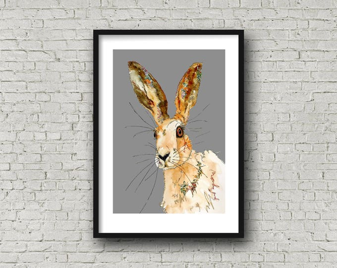Featured listing image: Hare - Print