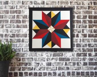 Wood Barn Quilts, Quilt Wall Art, Quilt Wall Hanging, Wood Wall Art, Barn Quilt Patterns, Wood Quilt Pattern, Wood Quilt Block, Housewarming
