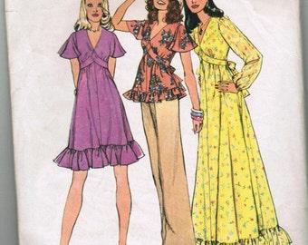 Vintage Simplicity 6600 Misses dress SIZE 10