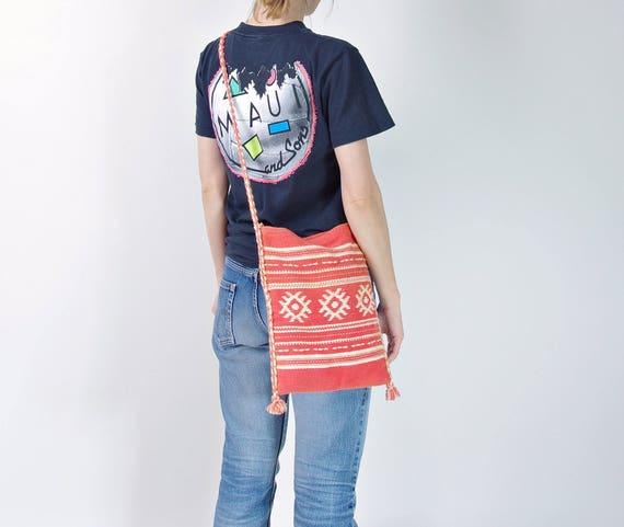 SALE! 70s Kilim bag handmade in Greece
