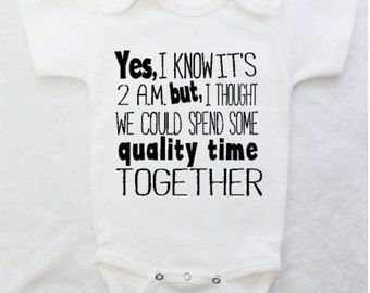 Funny Baby Bodysuit for Baby Boys and Baby Girls, Newborn Baby Clothes, Newborn Clothing, Baby Shower Gifts
