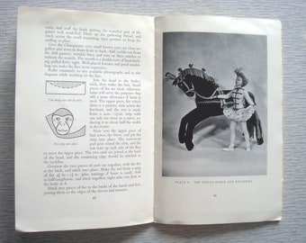 vintage CIRCUS TOYS sewing pattern book