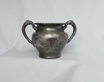 Forbes Silver Company Sugar Bowl Quadruple Plated 208