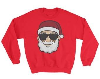 Ugly Christmas Sweater, Santa Claus Sweatshirt, Christmas Sweater, Santa, Ugly Sweater Party, Ugly Xmas Sweater, Hohoho, Sweatshirt Xmas