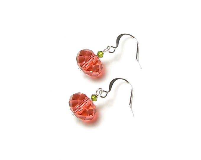 Autumn Pumpkin Earrings Swarovski Crystal Halloween Party Jewelry Thanksgiving Accessory Fall Season Gifts for Women Teacher Teen Gift Boxed
