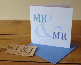 Gay marriage card, gay valentine card, gay wedding card, gay anniversary card, gay valentines, gay couple gifts, gay valentines card